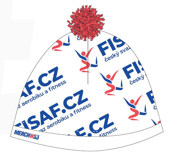 Čepice FISAF.cz - červená