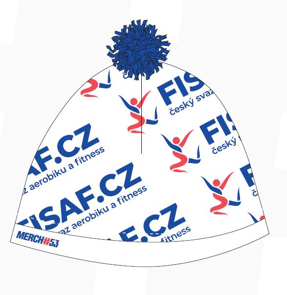 Čepice FISAF.cz - modrá