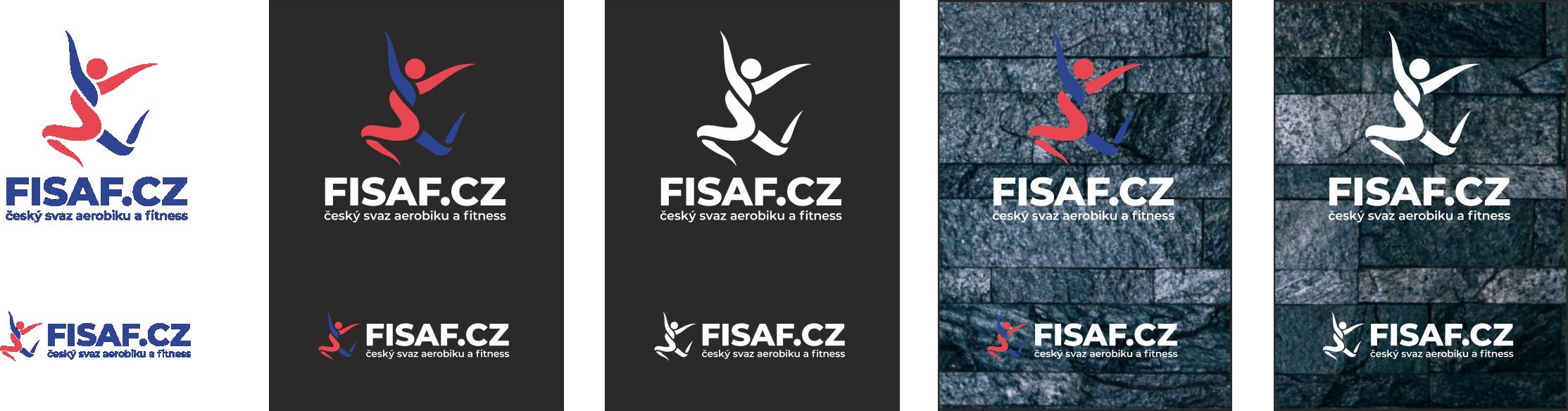 FISAF logo napodkladové barvě
