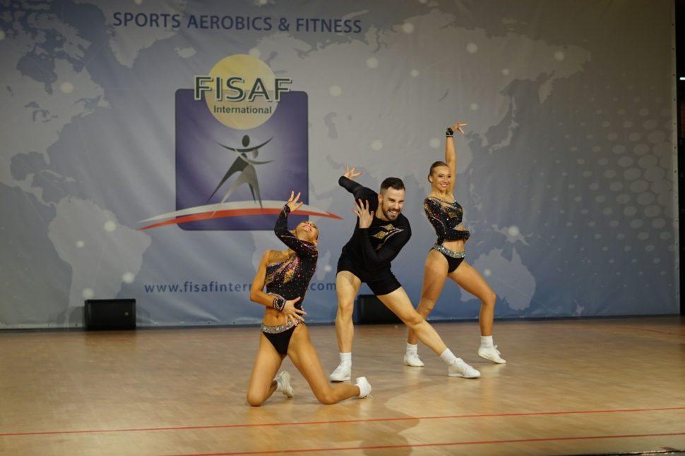 Trio sportovní aerobik