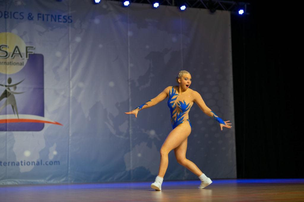 Adéla Citová - aerobik ženy